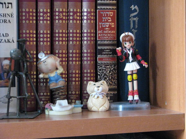 Contrasts of the Ba'al Teshuva mind, back then... Canon Canon Powershot S5 Childhood Contrast Day Figurine  Indoors  No People Prayer Book Prayer Books Sakura Sakura Card Captor Statue The Purist (no Edit, No Filter) Toy Toys