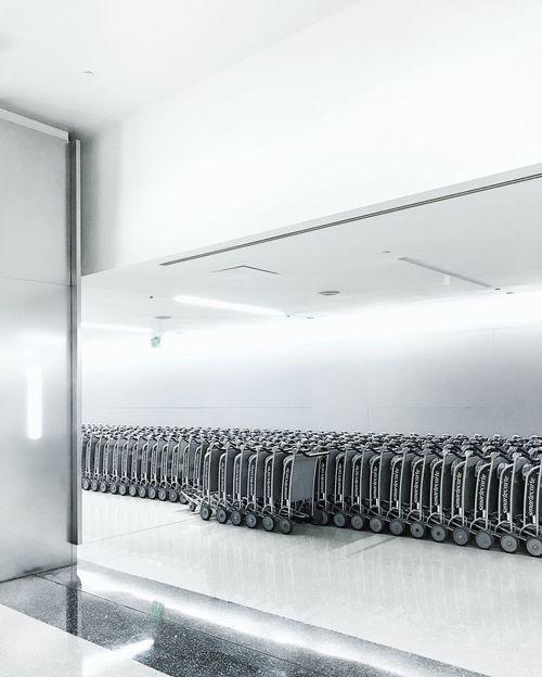 Carts Indoors  Lax Airport LAX Cart Minimal Minimalism Indoor The Week On EyeEm Editor's Picks