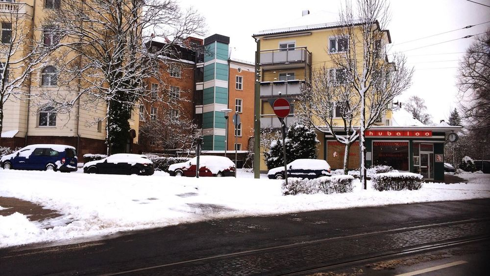 Kassel Cars Naturalized Snowy Days... Curves Lerone-itinerary Old Modernity Kassel Central