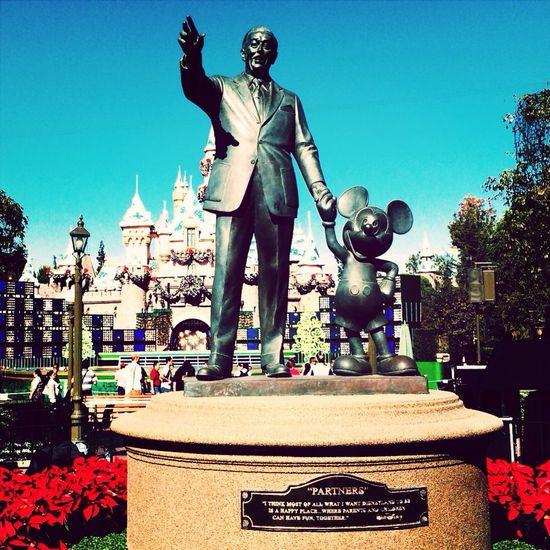 Main Street U.S.A. IPhoneography Themepark