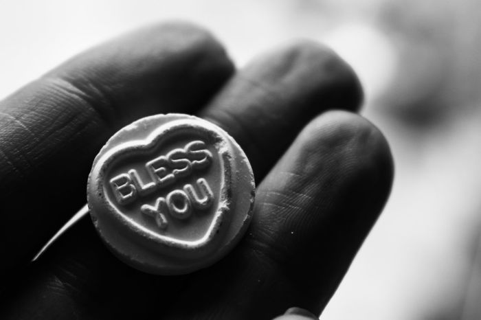 Black & White Black And White Black And White Collection  Black And White Photography Black&white Blackandwhite Blackandwhite Photography Blackandwhitephotography Blackwhite Blessings Close-up Day Fingers Focus Object Human Body Part Human Hand Love Love Hearts One Person People Real People Sweets