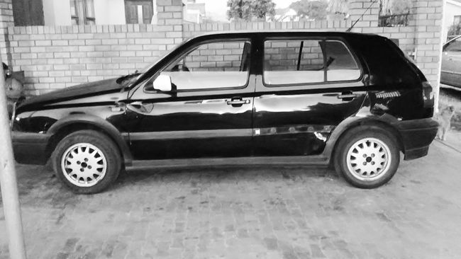 My '96 VW Golf GTS Mk3 1.8 - for 6 years you were my Beetle Juice. Now we both move on. You're still the best I've ever had. Volkswagen Vwgolf Germancars Blackandwhite Carlovers Vwgirl