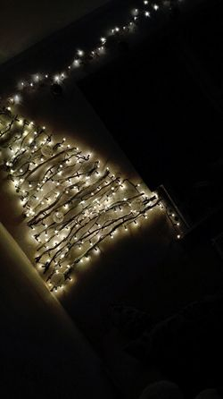 #love Christmas Decoration Christmas Tree Lights Room Nice EyeEm Best Shots Eye4photography  No People Night Indoors  Illuminated Close-up Freshness