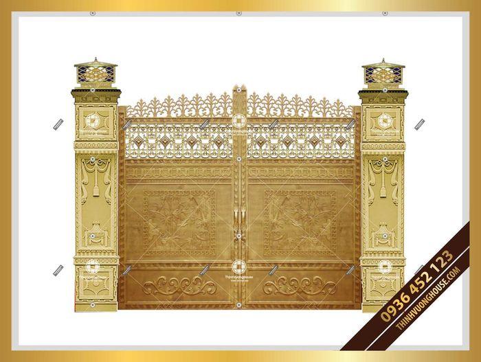 Cổng biệt thự đẹp Đồng Quê Thanh Bình mang lại cho bạn cảm giác thanh thản mỗi khi về nhà, thể hiện được phong cách của riêng bạn. http://thinhvuonghouse.com/san-pham/cua-cong-biet-thu-dong-que-thanh-binh Cửa Cổng Biệt Thự