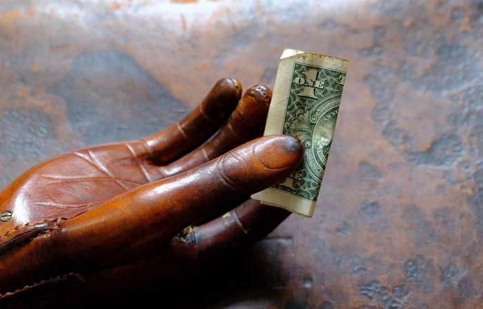 Business Economy Financial District  Leather USA Money Banking Banknote Business District Business Finance And Industry Dollar Dollar Notes Economic Crisis Finance Finance And Economy Financial Financial Planning Hand Handmade Money One Dollar  One Dollar Note Saving Saving Money