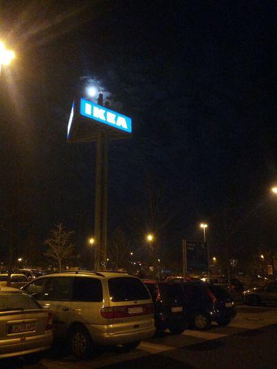 Abends um acht mal schnell zu Ikea :)
