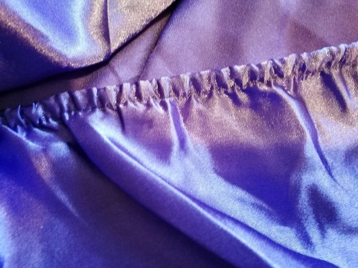 Textile Purple Backgrounds Close-up Full Frame No People Fabric Crumpled Cloth Pattern Solid Colors Violet Lilac Silky Silk Satin Bed Linen Sensual Tactile