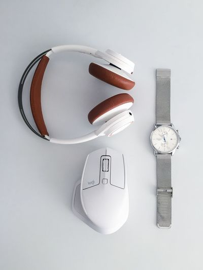 Mouse Logitech Watch Headphones White