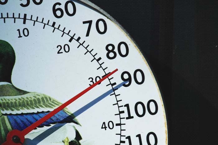 Summer is approaching Number Close-up No People Indoors  Day Thermometer Degrees Celcius Summer Spring Warm Outdoors Garden White Digits