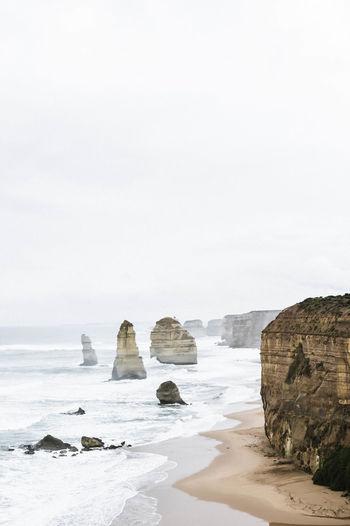 Scenic view of twelve apostles