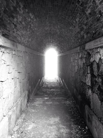 Tunnel Light At The End Of The Tunnel