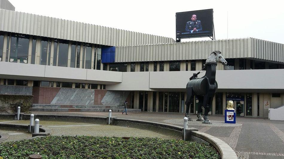 City Architecture Badisches Staatstheater Karlsruhe Kunst Im öffentlichen Raum  Theatre Theater Theaterplatz Public Building