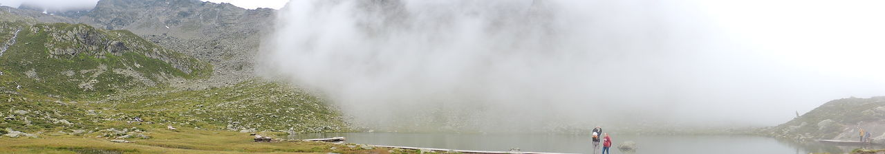 Beauty In Nature Day Flowing Water Fog Majestic Men Nature Non-urban Scene Person Power In Nature Scenics Sky Tourism Tourist Tranquil Scene Tranquility Travel Destinations Vacations Water