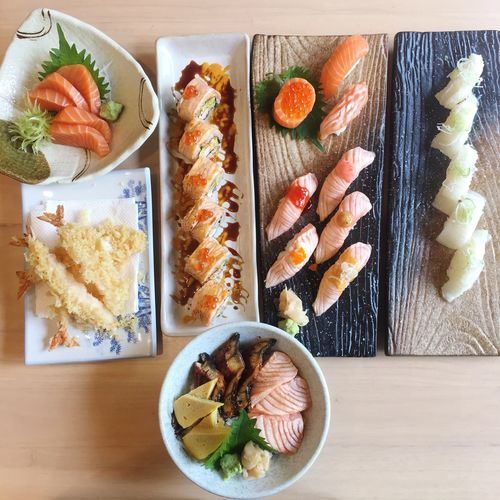 Time for lunch.🤤💕 #sushi Food Food And Drink Ready-to-eat Seafood