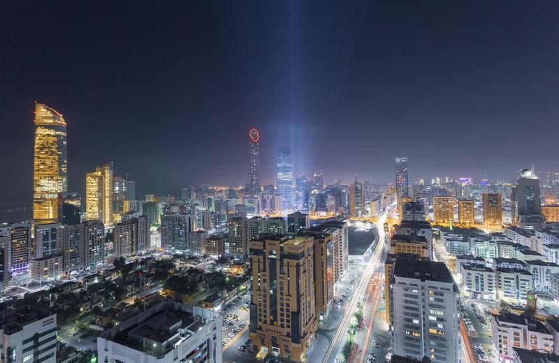 Abu dhabi cityscape view