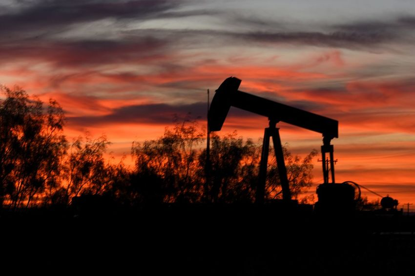 Tree Dusk Sunset Growth Oil Pump Nature Outdoors Sky No People Oil Field Golf Course Sunsetsaroundtheworld Dramatic Sky West Texas Landscape Cloudscape Texas Sky Nikonphotographer This Week On Eyeem Nikonphotography Texas Photographer Romantic Sky Rural Scene Pump Jack With Sun Setting Behind It