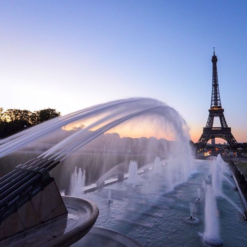 • Sunrise • bonjour! EyeEm Best Shots Eyem Best Shot - Architecture Paris Architecture Streetphoto_color Summertime Clouds And Sky Sky_collection Sunrise_Collection Sunrise