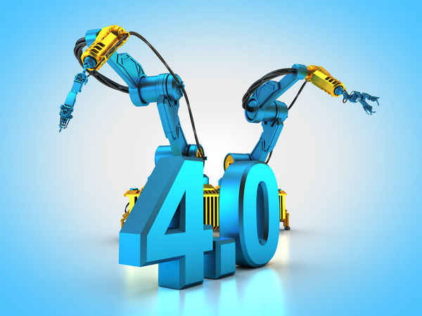 3D rendering: Industry 4.0 3d Rendering Automatic Automation Blue Industrial Industry Industry 4.0 Rendering Robot Robotic Robotic Arm Robotic Arms Robotics Robots
