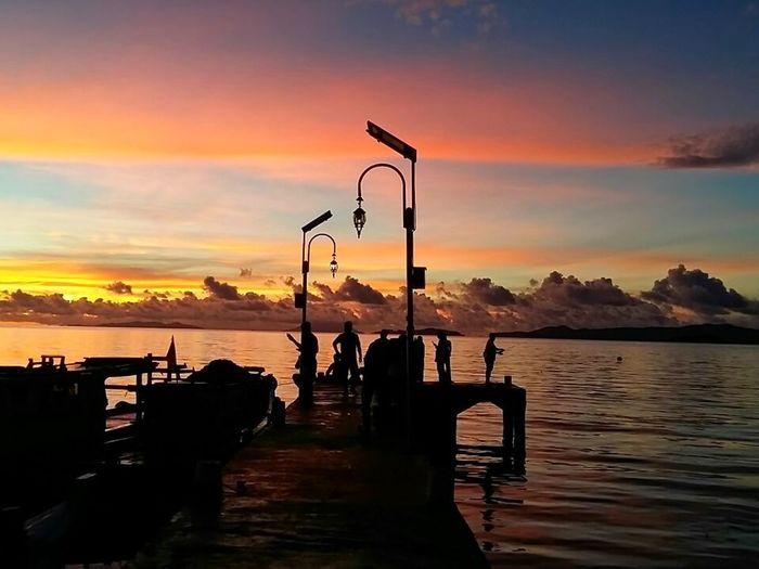 Senja yang indah Pahawang Island Sunset EyeEm Selects
