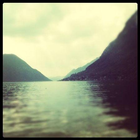 Italy Lugano Lake Ceresio Porlezza