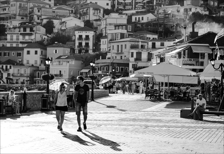 Summer in Parga Summer In The City Adult Architecture Building Building Exterior Built Structure City City Life Crowd Day Full Length Group Of People Lifestyles Men Nature Outdoors People Real People Street Walking Women