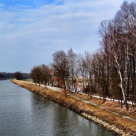 Sklblog Stichkanal Kanal River Trail Singletrail