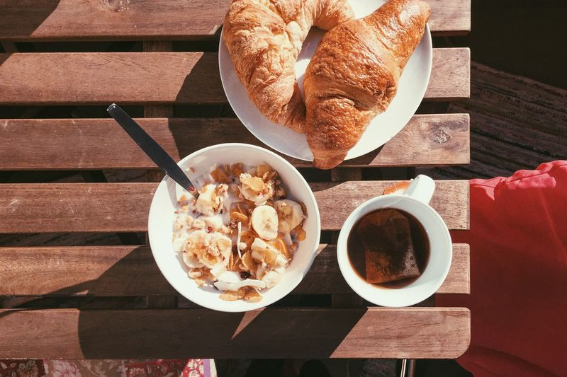 Brunch Brunch Around The World Croissant Muesli Cereal Breakfast Outdoors Balcony Tea Tea Time The OO Mission