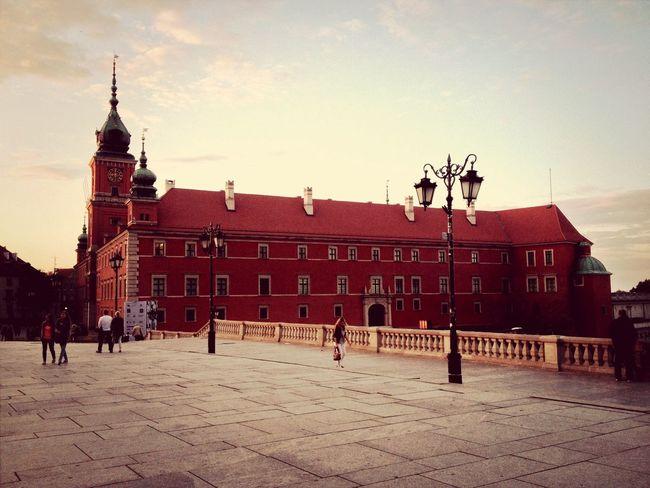 Warsaw Walking Around Architecture History