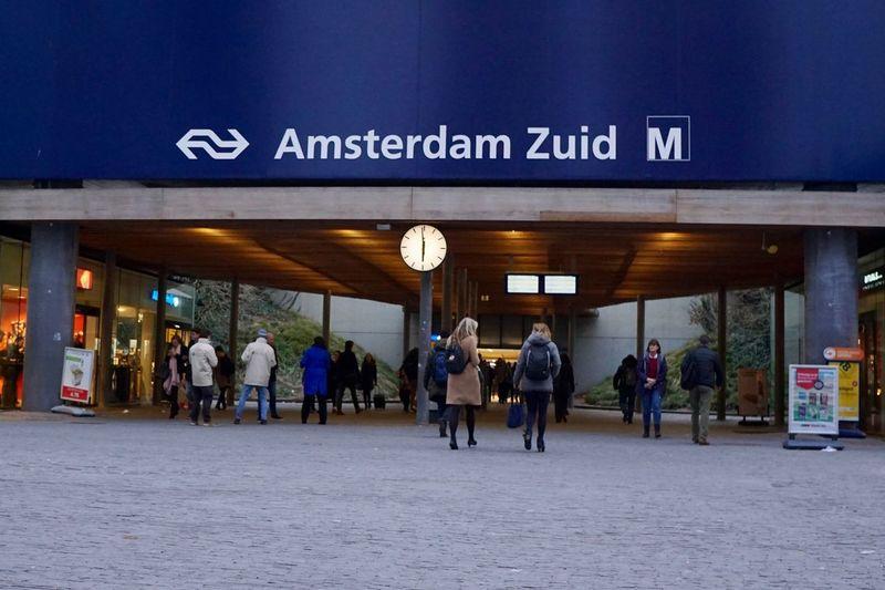 Zuidas Amsterdam Text Communication Travel Destinations Architecture City Building Exterior