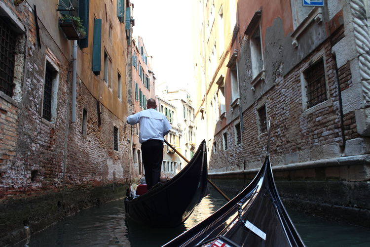 Venice, Italy Gondola Building Exterior Architecture Water Canal Old Town City Trip Wanderlust
