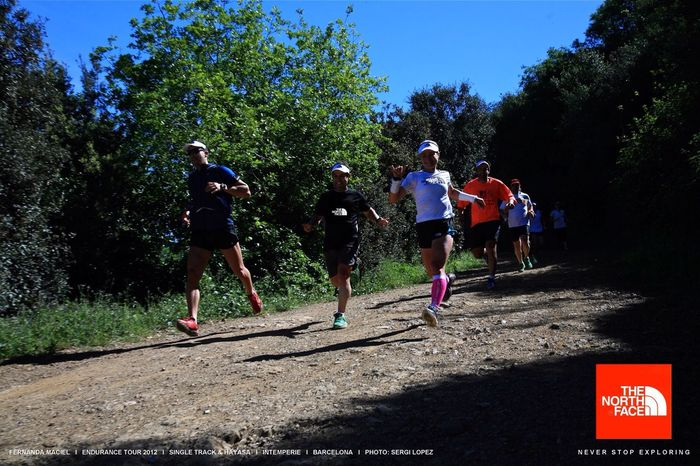 THE NORTH FACE Running Trail Running Sports Photography