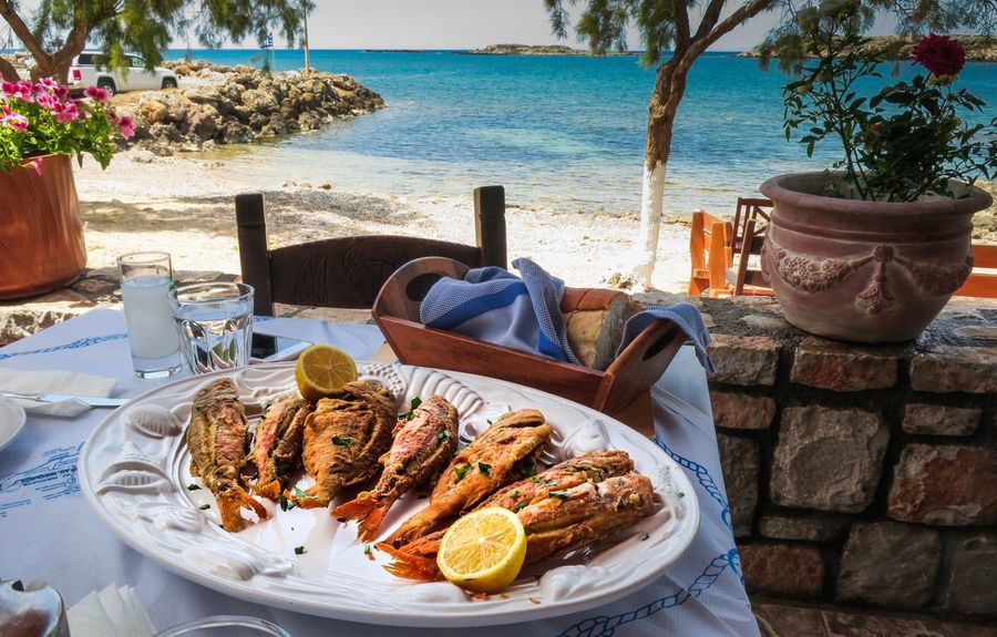 EyeEmNewHere Plate Food And Drink Beach Outdoors The Great Outdoors - 2017 EyeEm Awards Food Stories