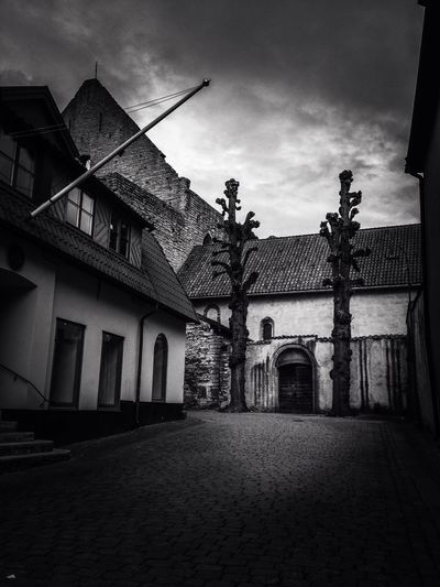 Visby Architecture_bw Bw_collection Blackandwhite SWEDEN_bw