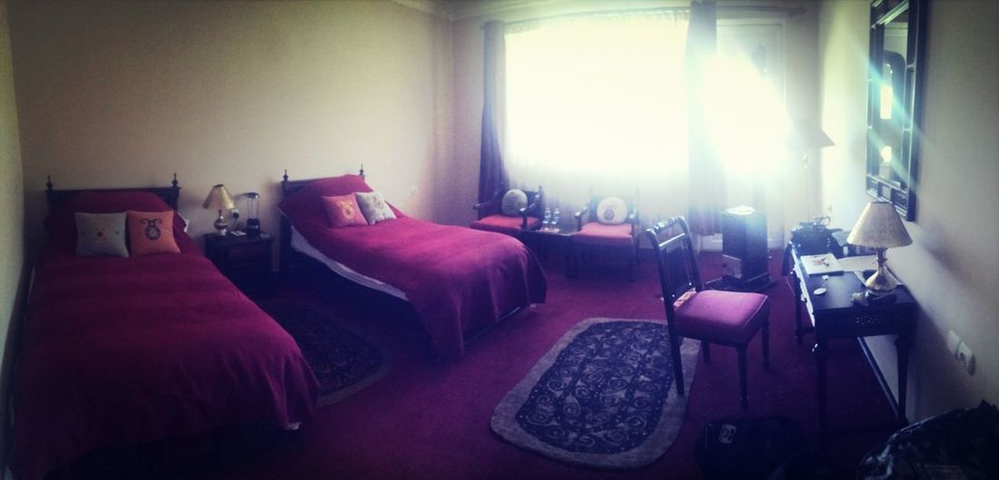 Back in the Silk Road hotel