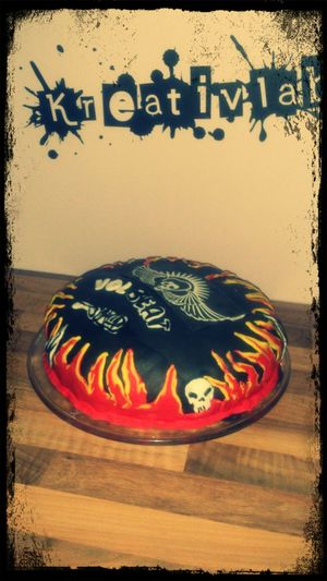 Birthday Cake Volbeat Pat's Kreativlabor