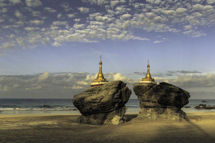 Stupas on Ngwe