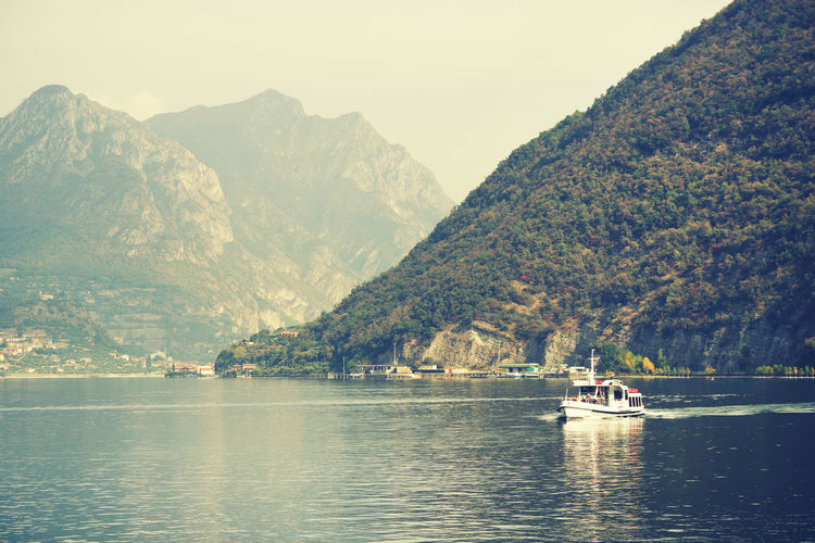 Iseo Lake in Italy, Europe Nature Day Outdoors Iseo Lake Iseo Italy Italia Resort Lake Lake View Lakeside Lakeshore Travel Destinations Travel Travel Photography Landscape_Collection Landscape_photography Landscape Europe Europe Trip Tourism Tourist Attraction  Touristic Italy Landscape Autumn
