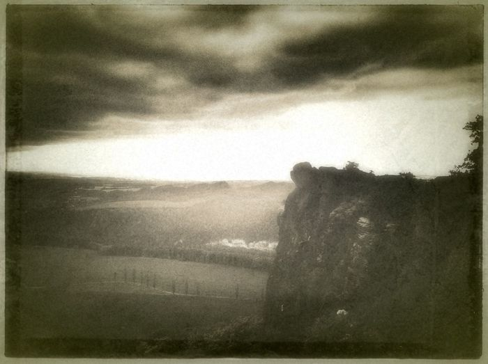 view from the lilienstein; königstein, saxony Sky And Clouds #landscape #nature #photography EyeEm Nature Lover Vintage Fx
