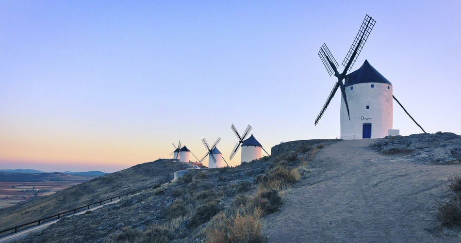 Don Chisciotte Alternative Energy Animal Themes Day Environmental Conservation Fuel And Power Generation Industrial Windmill Nature No People Outdoors Renewable Energy Sky Technology Traditional Windmill Wind Power Wind Turbine Windmill