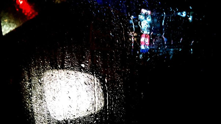 Darkness And Light @Rainy days frim inside my car!!