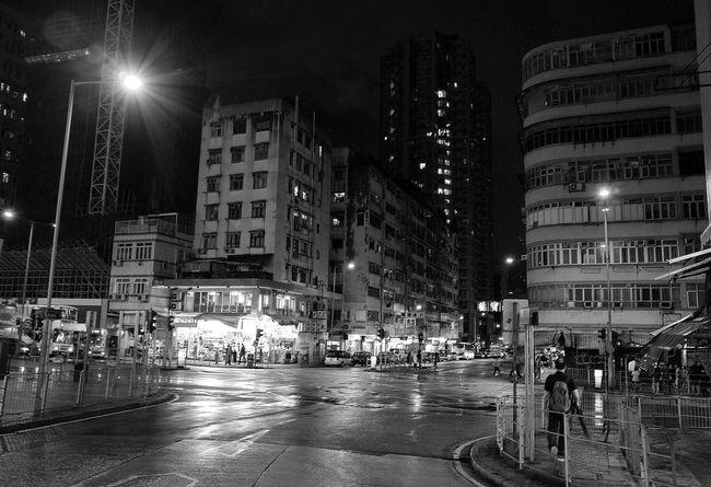 Nightphotography Night View Blackandwhite Streetphotography Eye4photography  Walking Around Streetphoto_bw Street