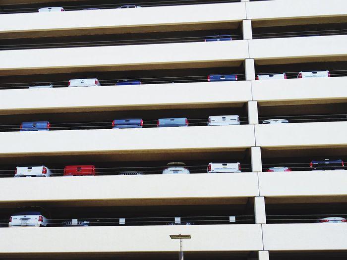 Parking Lot Parking Garage Parking Houston Texas No People Parking Space Garage