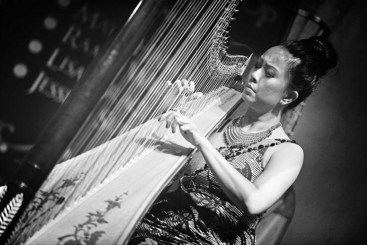 ...Maya Hasan The Harpist Concert MayaHasan Nikon D800