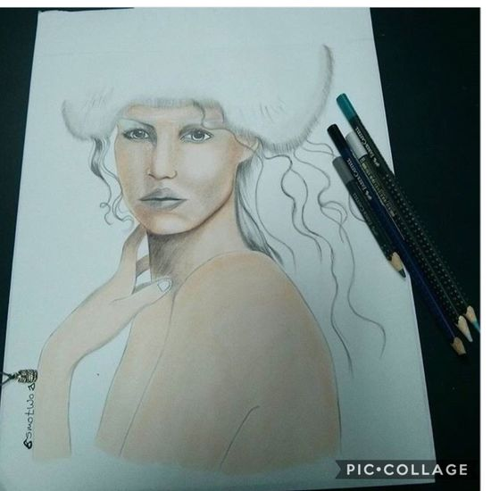 My passion always and always Fashion Effect Face Lady ArtClose-up Female Likeness Beautiful Woman Rendering Fashion&love&beauty