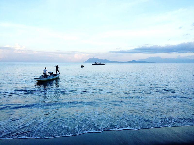 Eyemphotography Eye4photography  Flores Nttindonesia Endebeach Ende Endeflores Beach Fisherman Ocean Eyeemindonesia