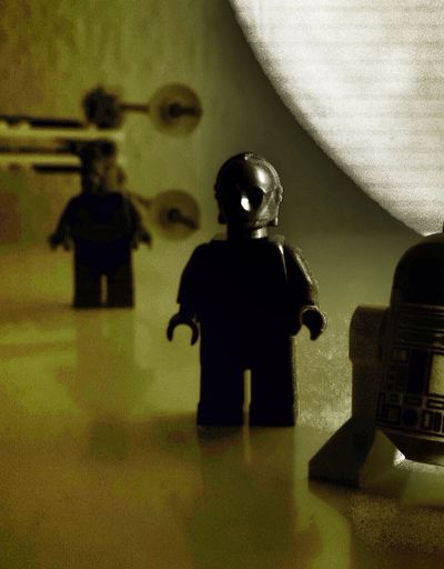 Playing with LEGO Starwars