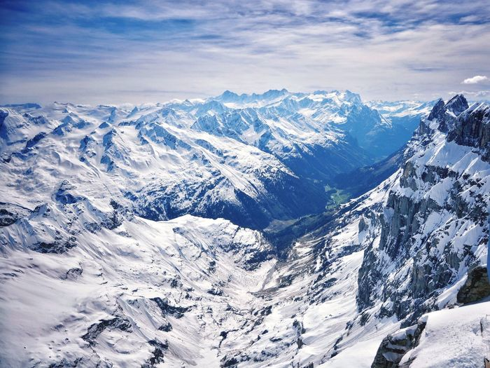 Valley Snow Winter Mountain Cold Temperature Scenics - Nature Beauty In Nature Tranquility Mountain Range Environment Landscape Snowcapped Mountain Nature White Color