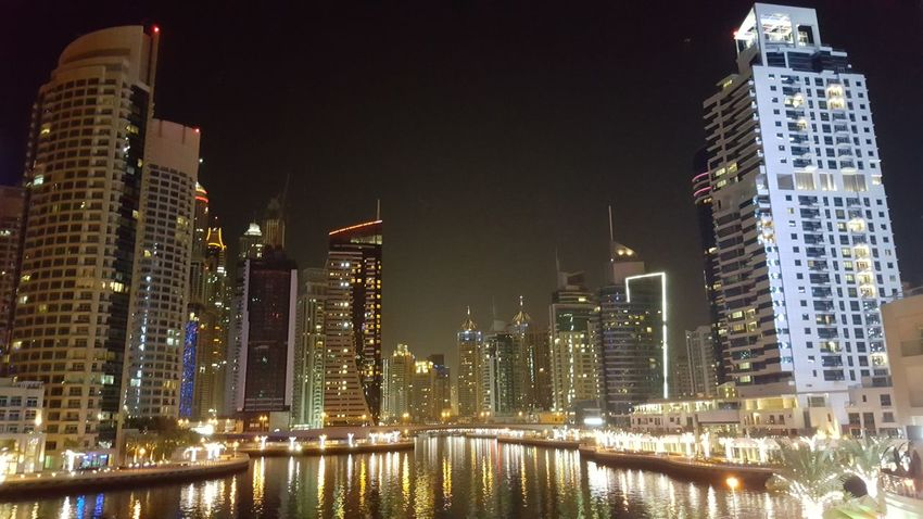Check This Out Sea Architecture Night Photography Yacht Mydubai Marina Twinkling Lights Night Night Lights Been There.