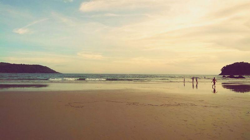 Ocean Waves Sunset Beach Beachphotography Thailand Paradise