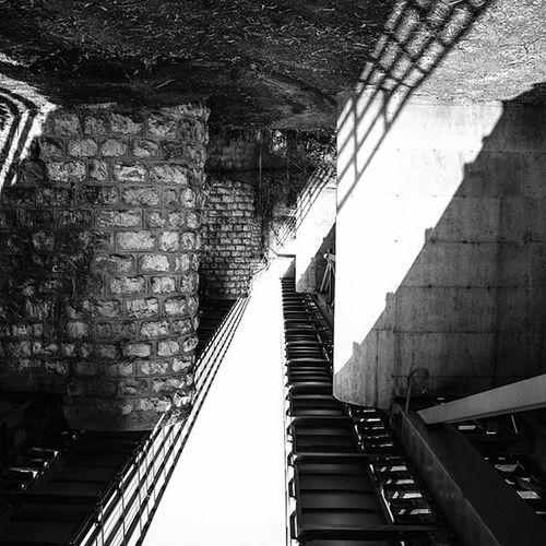 Rotate Picture Looks like a Huge Piano True Israel Railroad Railway Shadow Silueta Bw Blancoynegro Blackandwhite Ig_israel Igers Igourisrael ישראל מבצר מבצראנטיפטרוס ראשהעין Ig_worldclub IGDaily Urban_israel Insta_Israel